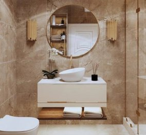Σπύρος Σούλης: Tips για να κρατήσετε το μπάνιο καθαρό για περισσότερες ημέρες! - Κυρίως Φωτογραφία - Gallery - Video