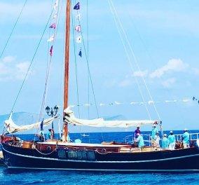 Αφιέρωμα στην Αφρόεσσα - Το εντυπωσιακό σκάφος του τέως βασιλιά Κωνσταντίνου: Το έκανε δώρο στην Άννα Μαρία για τα 60α γενέθλιά της (φωτό - βίντεο)  - Κυρίως Φωτογραφία - Gallery - Video