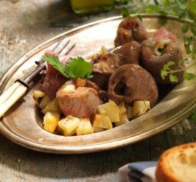 Η Αργυρώ Μπαρμπαρίγου μας ετοιμάζει μια λαχταριστή συνταγή: Μοσχαρίσια ρολάκια γεμιστά με τυρί - Κυρίως Φωτογραφία - Gallery - Video