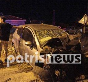 Ασύλληπτη τραγωδία στην Ε.Ο.  Πατρών - Πύργου: Νεκρό βρέφος 16 μηνών από σύγκρουση οχημάτων (Φωτό & Βίντεο)  - Κυρίως Φωτογραφία - Gallery - Video