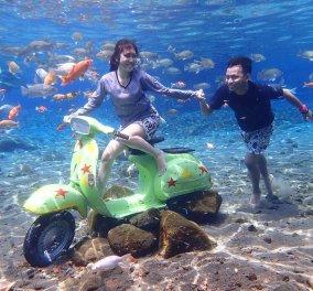 To πιο Instagramικό μέρος του κόσμου είναι αυτή η λίμνη στην Ινδονησία – Ο βυθός της, σκηνικό για μαγικά στιγμιότυπα - Κυρίως Φωτογραφία - Gallery - Video