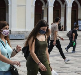 Α. Λινού: Μάσκα σε όλους τους χώρους, είμαστε σε κρίση – Χ. Γώγος: Θα δυσκολέψει η κατάσταση όταν πέσει η θερμοκρασία (Φωτό & Βίντεο) - Κυρίως Φωτογραφία - Gallery - Video