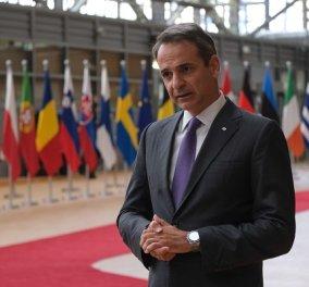 Live-  Κυριάκος Μητσοτάκης: Η συνέντευξη τύπου του Πρωθυπουργού μετά τη Σύνοδο Κορυφής - Κυρίως Φωτογραφία - Gallery - Video