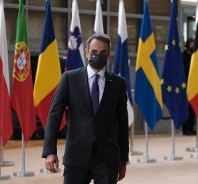 Σύνοδος Κορυφής - Μητσοτάκης: Κάναμε διπλωματικό αγώνα για να γραφτεί ρητώς η αποδοκιμασία των Ευρωπαίων ηγετών στην τουρκική προκλητικότητα (βίντεο) - Κυρίως Φωτογραφία - Gallery - Video