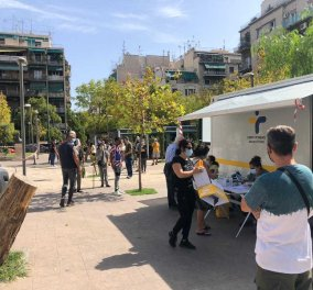 Κορωνοϊός - rapid tests: 20 νέα κρούσματα στην πλατεία Αγίου Παντελεήμονα - 5 Έλληνες, 15 αλλοδαποί (Φωτό)  - Κυρίως Φωτογραφία - Gallery - Video