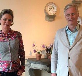 Πρώτη συνάντηση του Βασιλιά Φιλίππου του Βελγίου με την εξώγαμη κόρη του πατέρα του- Η αμήχανη πριγκίπισσα πια, Ντελφίν φτυστή ο αδελφός της (φωτό)  - Κυρίως Φωτογραφία - Gallery - Video