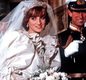 Μία σπάνια vintage φωτό από τον γάμο της Diana & του Καρόλου: Η πανέμορφη νύφη, η πεθερά βασίλισσα Ελισάβετ & το παρανυφάκι  - Κυρίως Φωτογραφία - Gallery - Video
