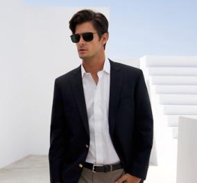 Διάσημοι Έλληνες άνδρες με υπέροχα κουστούμια - Η καμπάνια με πρωταγωνιστές: Δημήτρη Γκοτσόπουλο, Άγγελο Μπράτη, Χάρη Χριστόπουλο    - Κυρίως Φωτογραφία - Gallery - Video