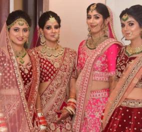Σάρι: Οι έθνικ ενδυμασίες των γυναικών της Ινδίας σε εκτυφλωτικά χρώματα – Τα μεταξωτά νυφικά ξεπερνούν κάθε φαντασία (φωτό) - Κυρίως Φωτογραφία - Gallery - Video
