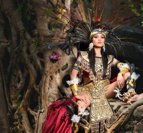 Oι διαγωνιζόμενες για την ανάδειξη της Miss Mexico φόρεσαν παραδοσιακές στολές & φωτογραφήθηκαν  - To αποτέλεσμα είναι εντυπωσιακό!  - Κυρίως Φωτογραφία - Gallery - Video