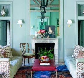 """Το χρώμα της μέντας είναι το απόλυτο must για το φθινόπωρο: Ρομαντικό & γαλήνιο δίνει """"χαρακτήρα"""" σε κάθε δωμάτιο του σπιτιού (φωτό) - Κυρίως Φωτογραφία - Gallery - Video"""