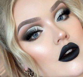 """Εκτός από τα μαύρα νύχια τώρα & μαύρο κραγιόν: Δείτε στο βίντεο καρέ καρέ πως το φοράτε & """"λάμπετε"""" - Κυρίως Φωτογραφία - Gallery - Video"""