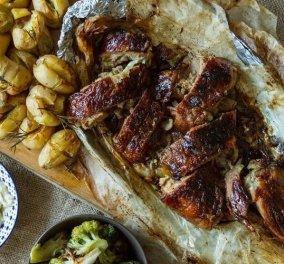 Άκης Πετρετζίκης: Ο αγαπημένος μας σεφ μας προτείνει καραμελωμένο μπούτι αρνιού  - Κυρίως Φωτογραφία - Gallery - Video