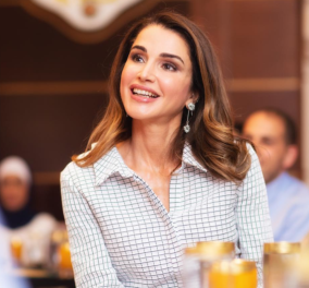 Ράνια της Ιορδανίας: H λιλά φούστα της Βασίλισσας θα φορεθεί πολύ - Η αδυναμία της στις φούστες (φωτό) - Κυρίως Φωτογραφία - Gallery - Video