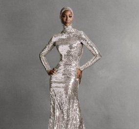 """Η Νaomi Campbell στο εξώφυλλο της Vogue με ανεπανάληπτες haute couture τουαλέτες- Το παγιετέ Valentino & το λευκό """"αγαλμάτινο"""" σύνολο (φωτό) - Κυρίως Φωτογραφία - Gallery - Video"""