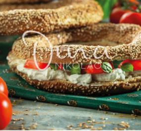 Η Ντίνα Νικολάου δημιουργεί: Υπέροχο κουλούρι Θεσσαλονίκης σάντουιτς - Κυρίως Φωτογραφία - Gallery - Video