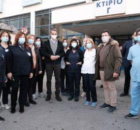 Θεσσαλονίκη - Ιπποκράτειο νοσοκομείο – Μητσοτάκης - Κικίλιας – Πέτσας: Πρώτοι θα εμβολιαστούν οι γιατροί – Από του πρώτους & ο πρωθυπουργός (Φωτό & Βίντεο)  - Κυρίως Φωτογραφία - Gallery - Video