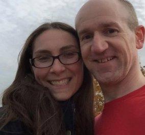 «Όταν ο άνδρας μου δεν μπορούσε να αναπνεύσει, κάλεσα ασθενοφόρο- Η τελευταία φορά που τον είδα»: Η νεαρή μαμά έχασε τον σύζυγό της από κορωνοϊό (φωτό) - Κυρίως Φωτογραφία - Gallery - Video