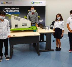 Πανελλήνιος Διαγωνισμός Εκπαιδευτικής Ρομποτικής 2020: 6.000 συμμετοχές μαθητών, παρά την πανδημία, με στρατηγικό συνεργάτη την COSMOTE - Κυρίως Φωτογραφία - Gallery - Video