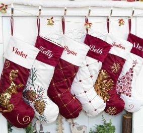 45 προτάσεις με τις πιο χαριτωμένες, αστείες & όμορφες Χριστουγεννιάτικες κάλτσες – Πώς θα τις βάλετε πάνω στο τζάκι (Φωτό)   - Κυρίως Φωτογραφία - Gallery - Video