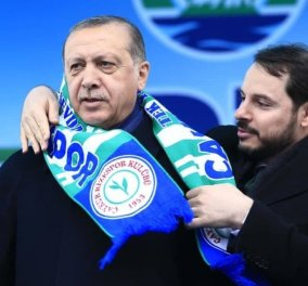 """Πρωτοφανές επεισόδιο μέσα στο """"χρυσό"""" Προεδρικό Μέγαρο: Ο γαμπρός του Ερντογάν αντάλλαξε μπουνιές με τον διοικητή της Κεντρικής Τράπεζας της Τουρκίας (φωτό) - Κυρίως Φωτογραφία - Gallery - Video"""