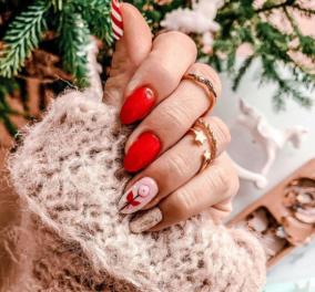 34 εντυπωσιακά σχέδια στα νύχια για το Δεκέμβριο 2020 - Φτιάξτε τα μόνες σας στο σπίτι - Κυρίως Φωτογραφία - Gallery - Video