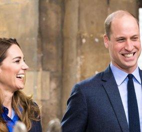 Υπερδραστήριος ο επόμενος βασιλιάς William - Το μπλε αυστηρό στυλ της Kate & η φλοράλ λεπτομέρεια (Φωτό & Βίντεο)   - Κυρίως Φωτογραφία - Gallery - Video