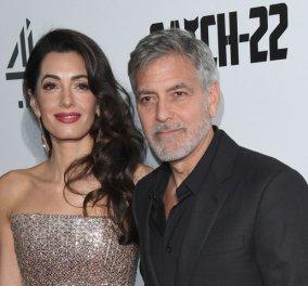 """Ο γόης George Clooney """"λιώνει"""" μιλώντας για την Amal & τα δίδυμα: Εκείνη τα άλλαξε όλα- Και γάμο έκανα & παιδιά (φωτό) - Κυρίως Φωτογραφία - Gallery - Video"""
