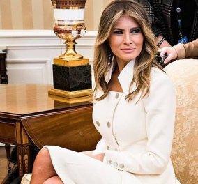 H (ακόμη) Πρώτη Κυρία των ΗΠΑ Melania Trump δίνει μαθήματα στυλ 2 μήνες πριν αφήσει τον Λευκό Οίκο (φωτό) - Κυρίως Φωτογραφία - Gallery - Video
