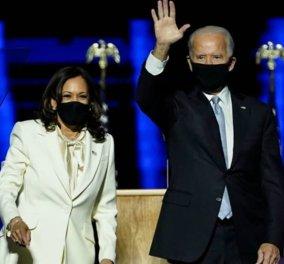 Κάμαλα Χάρις: «Τα καταφέραμε Τζο» - Με τις φόρμες της η Αντιπρόεδρος του αναγγέλλει τη νίκη (Φωτό & Βίντεο)  - Κυρίως Φωτογραφία - Gallery - Video
