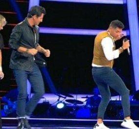 "The Voice: Μάθημα χορού με τον Pedro Santana - Ο παίκτης που ""ξεσήκωσε"" τους coaches  & χόρεψαν σάλσα (Βίντεο)  - Κυρίως Φωτογραφία - Gallery - Video"