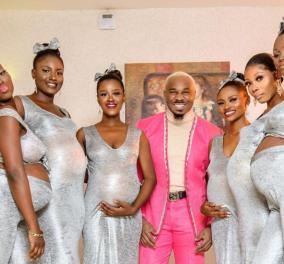 Άντρας με αντοχές: Πήγε σε γάμο με τις 6 έγκυες φιλενάδες του, από τον ίδιο (φωτό - βίντεο) - Κυρίως Φωτογραφία - Gallery - Video