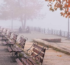 Καιρός: Συννεφιασμένη Παρασκευή-  Με ομίχλη & τοπικές βροχές βαδίζουμε προς το Σαββατοκύριακο - Κυρίως Φωτογραφία - Gallery - Video