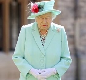 Ακόμη & η βασίλισσα Ελισάβετ υπέκυψε στη «γοητεία» του zoom – Έβαλε το κατάλληλο colorblocking κομψό φόρεμα  (Φωτό & Βίντεο)  - Κυρίως Φωτογραφία - Gallery - Video