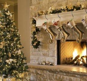 Ατμοσφαιρικό & νοσταλγικό ή μοντέρνο & trendy; Ιδού 40 υπέροχες ιδέες για να διακοσμήσετε το τζάκι σας τα Χριστούγεννα (φώτο) - Κυρίως Φωτογραφία - Gallery - Video