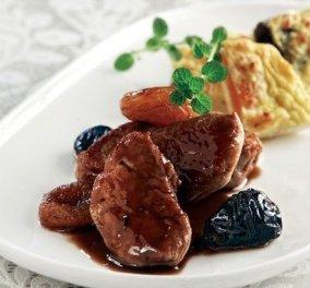 Ψαρονέφρι γλασαρισµένο & πουρές ογκρατέν µε κρέµα τυριού - Μια ονειρεμένη συνταγή για το γιορτινό τραπέζι από την Αργυρώ Μπαρμπαρίγου - Κυρίως Φωτογραφία - Gallery - Video