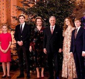 Αυτές είναι οι πιο ωραίες χριστουγεννιάτικες φώτο: Η βασίλισσα Ματθίλδη & η οικογένεια της σε λαμπερά στιγμιότυπα - Κυρίως Φωτογραφία - Gallery - Video