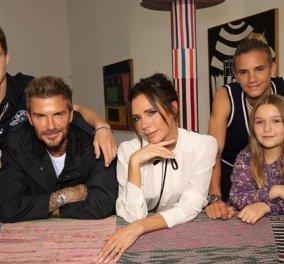 Ο David Beckham και τα αγόρια του σε γιορτινή διάθεση - Το μαλλί του 15χρονου Cruz θα σας εντυπωσιάσει! (φωτό) - Κυρίως Φωτογραφία - Gallery - Video