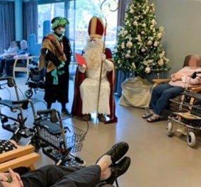 Άι Βασίλης – «φονιάς»:  Πήγε να μοιράσει δώρα & κόλλησαν 75 άτομα σε γηροκομείο στο Βέλγιο  (Φωτό)  - Κυρίως Φωτογραφία - Gallery - Video