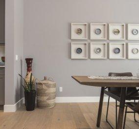Συμβουλές από τον Σπύρο Σούλη: Πρωτότυπες ιδέες για να διακοσμήσετε τον τοίχο πάνω από την τραπεζαρία σας! - Κυρίως Φωτογραφία - Gallery - Video