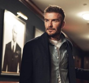 Πως θα είναι ο David Beckham γέρος; Ο ίδιος ανέβασε την φωτογραφία του- Με λευκό μούσι, γεμάτος ρυτίδες - Κυρίως Φωτογραφία - Gallery - Video