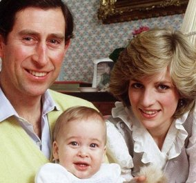 1984, όταν ο μικρός πρίγκιπας Γουίλιαμ πουδράριζε την αλησμόνητη πριγκίπισσα του λαού, Νταϊάνα (Φωτό & Βίντεο)  - Κυρίως Φωτογραφία - Gallery - Video