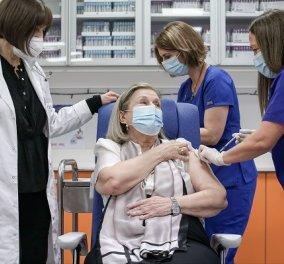 """Θεοδωρίδου για εμβόλια κορωνοϊού: """"Ημέρα γιορτής"""" - Τρία κριτήρια προτεραιότητας για τον εμβολιασμό - Στην Ελλάδα η πρώτη μεγάλη παρτίδα της Pfizer  - Κυρίως Φωτογραφία - Gallery - Video"""