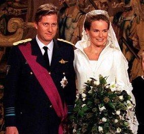 21 χρόνια γάμου για τον βασιλιά Φίλιππο & την βασίλισσα Ματθίλδη του Βελγίου- Η συγκίνηση & τα δάκρυα μέσα στην εκκλησία (φωτό- βίντεο) - Κυρίως Φωτογραφία - Gallery - Video