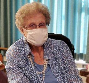 Top woman η Τίλι Ντίμπινγκ, 107 ετών: Νίκησε τον κορωνοϊό τώρα & στα 95 τον καρκίνο  - Κυρίως Φωτογραφία - Gallery - Video