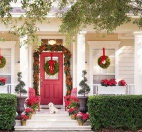 39 ιδέες για στολίσετε χριστουγεννιάτικα την εξώπορτα, τον κήπο & τα κάγκελα του σπιτιού σας – Όλα γιορτινά (Φωτό)  - Κυρίως Φωτογραφία - Gallery - Video