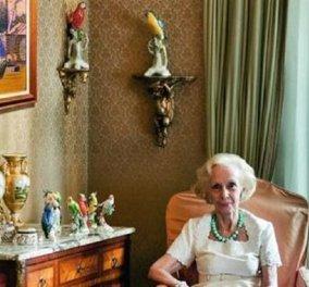 Έφυγε από τη ζωή η Λήδα Κατακουζηνού - Βαρδινογιάννη - χήρα του Παύλου - Η ανιψιά της Όλγα την αποχαιρετά (φώτο) - Κυρίως Φωτογραφία - Gallery - Video