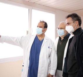 Κυρ. Μητσοτάκης από τη Βέροια: Οι υγειονομικοί θα εμβολιαστούν πρώτοι, θα δώσουν το καλό παράδειγμα (φωτό - βίντεο) - Κυρίως Φωτογραφία - Gallery - Video