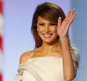 Η Melania αποχαιρετά με μεγαλοπρέπεια τον Λευκό Οίκο: Το ονειρικό βίντεο & το υπέροχο Black and white παλτό της - Κυρίως Φωτογραφία - Gallery - Video