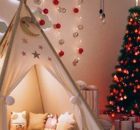 Αυτά είναι τα 15 ωραιότερα διακοσμημένα παιδικά δωμάτια για τα φετινά Χριστούγεννα: Τα υπερβολικά, τα λιτά, τα παραμυθένια (φωτό) - Κυρίως Φωτογραφία - Gallery - Video